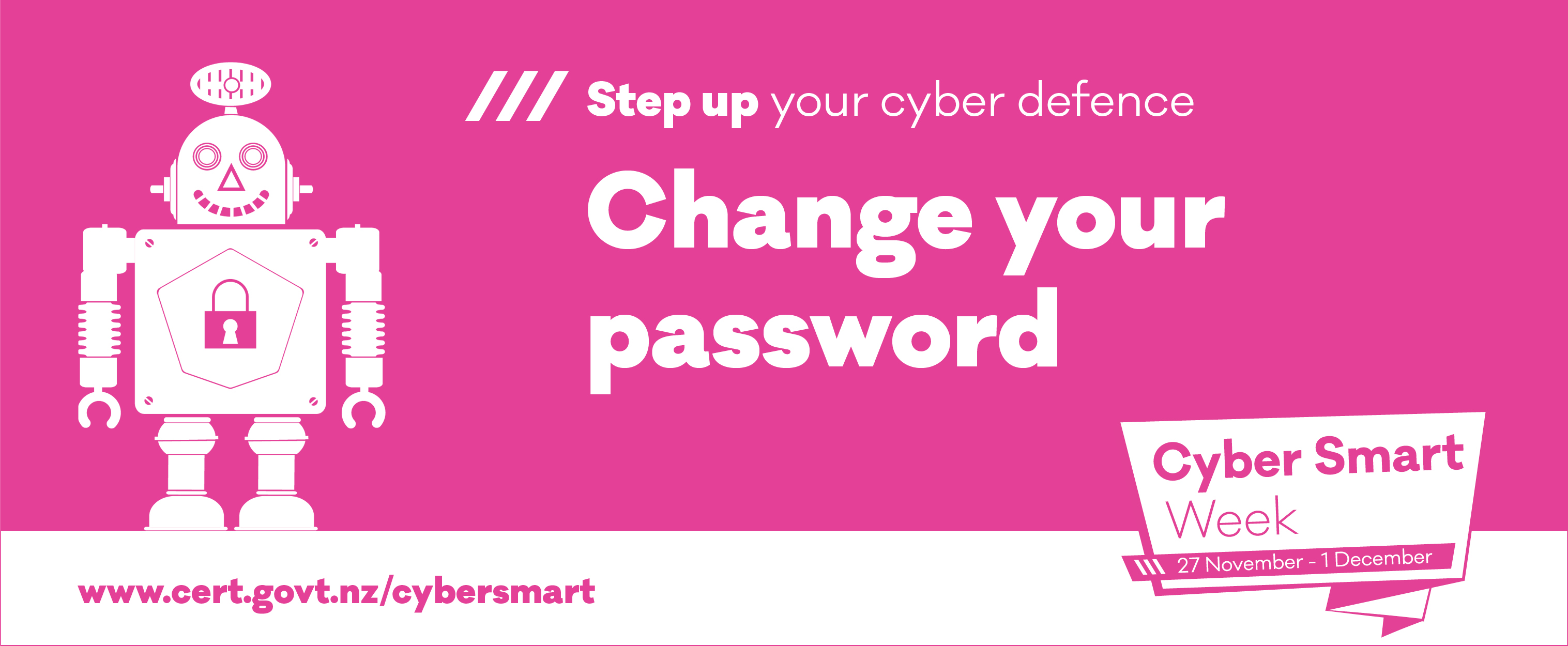 phew cyber smart week 2017 change password