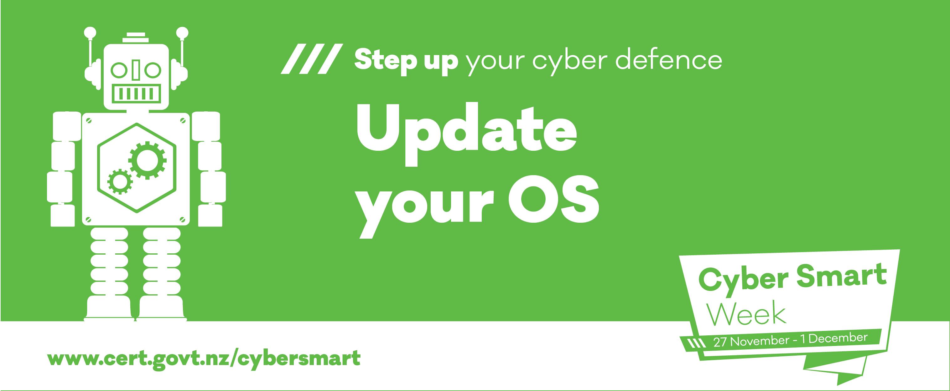 phew cyber smart week 2017 update OS