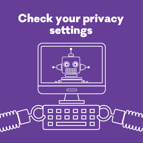 phew cyber security privacy settings