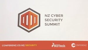 phew attends NZ Cyber Security Summit conference, 2018